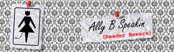 Ally B Speakin header image